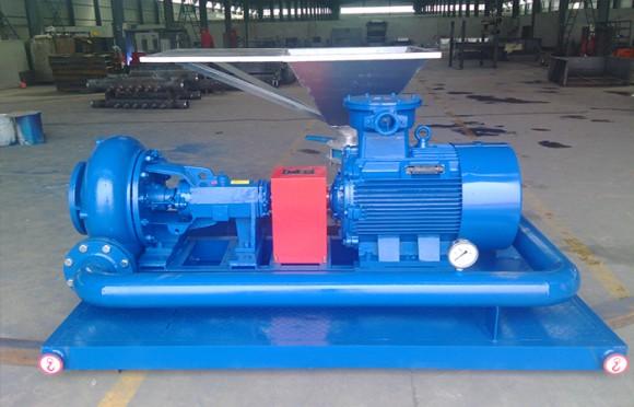 射流混浆装置用于煤层气钻井
