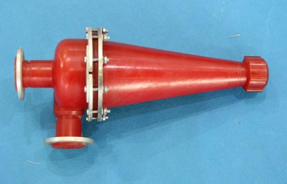 水力旋流器侧面图