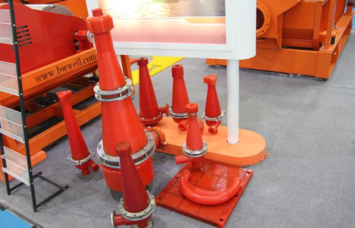 不同类型的水力旋流器展示