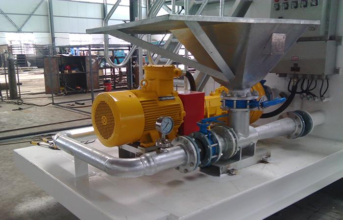 射流混浆装置热镀锌工艺外形展示