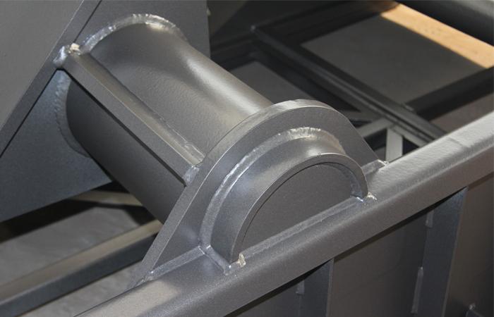 钻井液振动筛激震梁焊接工艺及喷涂工艺展示