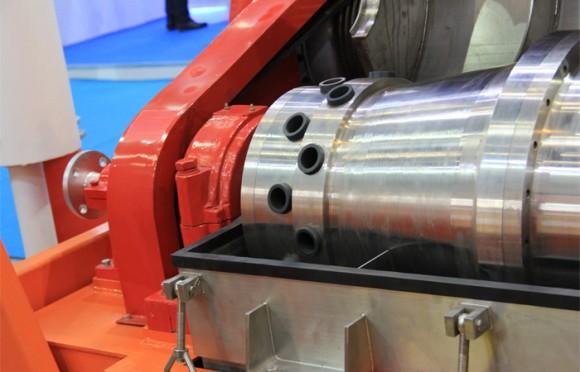 钻井液离心机卸料口结构展示