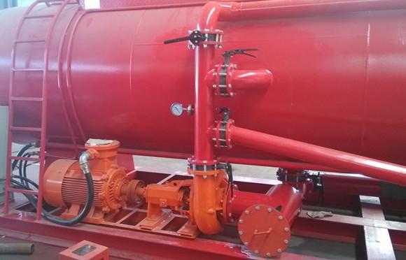 泥浆混浆罐供浆泵