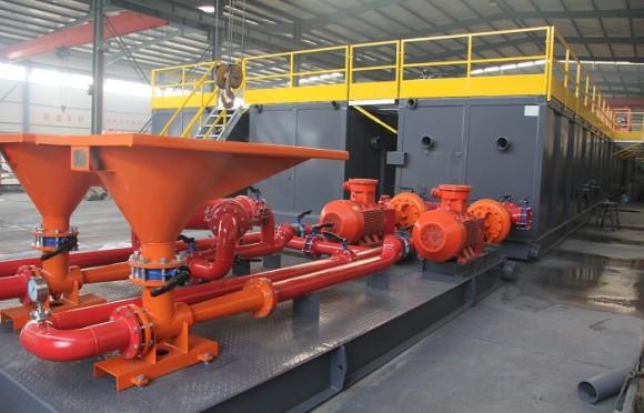 ZJ50钻机配套固控系统(印度项目)