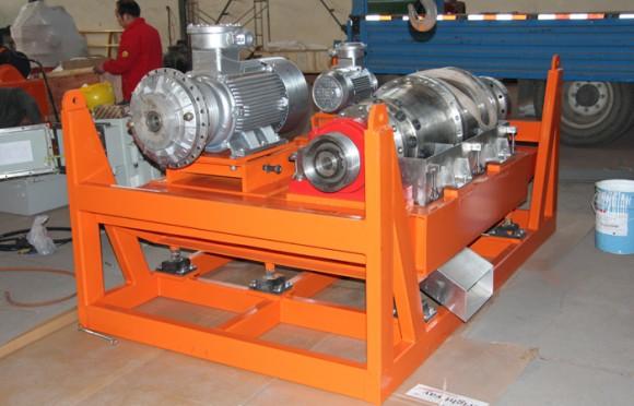 高速离心机装配内部结构展示