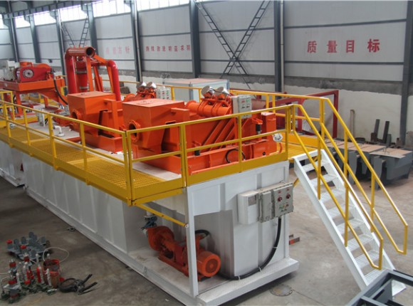 煤层气&地热钻井泥浆净化领域   CBM & Geothermal Well System