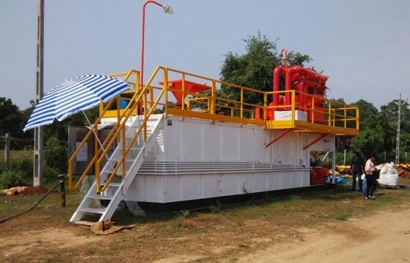 200GPM非开挖泥浆回收系统(印度项目)