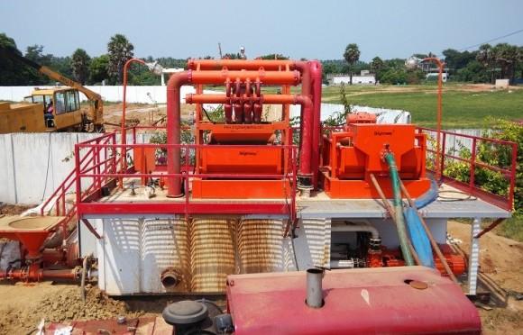 500GPM非开挖泥浆循环系统(马来西亚项目)