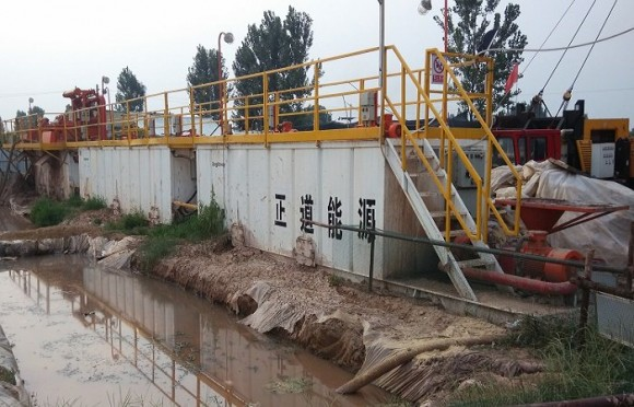 煤层气泥浆净化系统(山西项目)