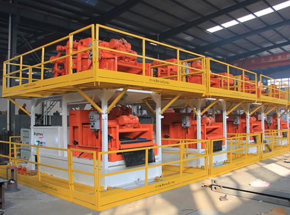 盾构施工泥水分离系统 Tunneling Separation Plant