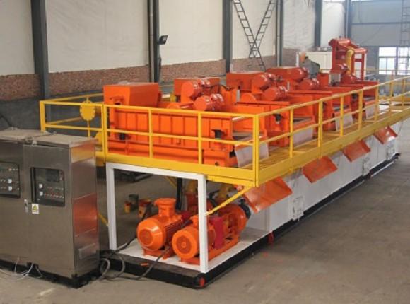 河道淤泥&环保污泥脱水干化系统 Dewatering System