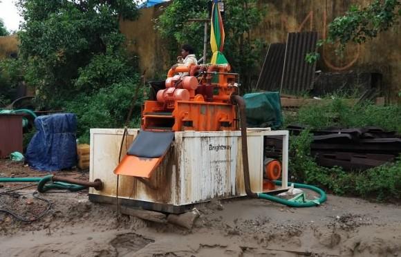 小型泥浆回收系统