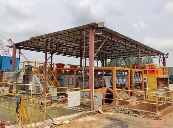 河道淤泥&环保污泥脱水设备系统 Dewatering System