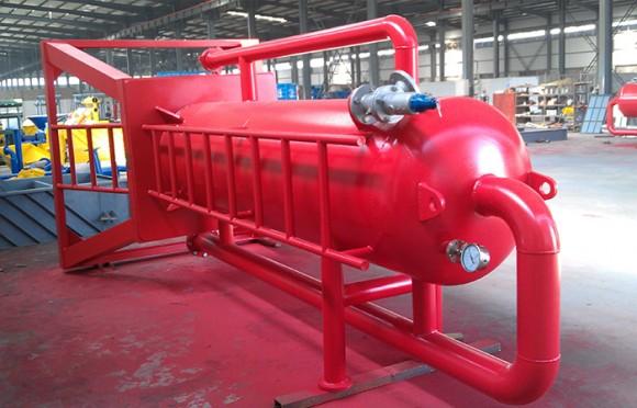液气分离器供给用在南海油田