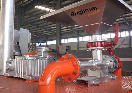 环保净化系统混浆漏斗和搅拌器