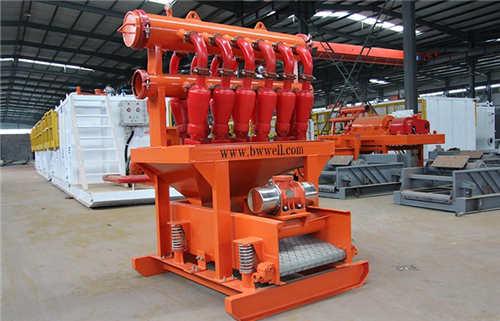 第四级固控系统钻井液除泥器