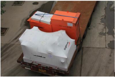 聚氨酯筛网型振动筛发货