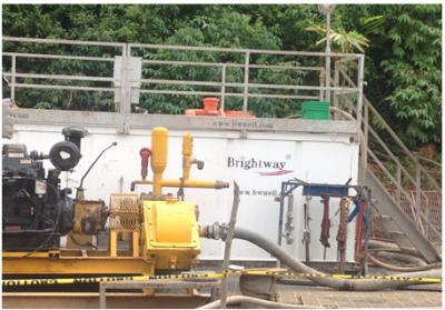 HDD泥浆循环回收系统非开挖现场二