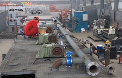 初步加工的钻井固控系统
