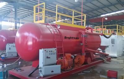 泥浆固控系统中的水化混浆罐