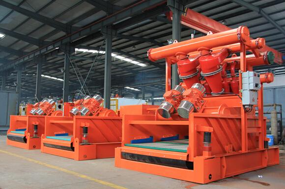 非开挖泥浆回收系统设备(振动筛,泥浆清洁器)