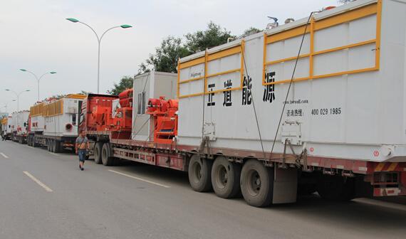 钻井液固控系统发货