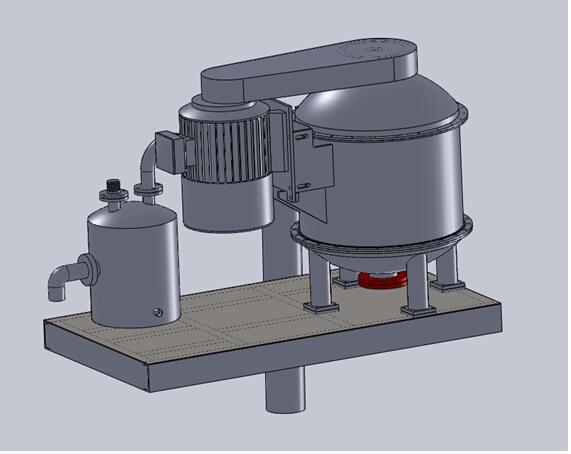 BWZCQ 钻井液真空除气器概念图