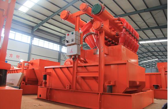ZJ40钻井配套固控系统泥浆清洁器
