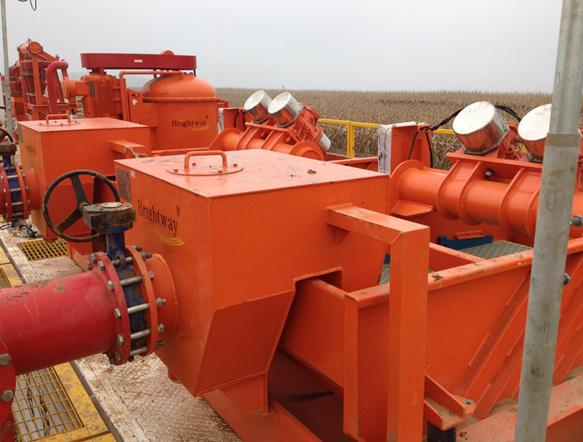 石油钻井固控系统四级净化设备