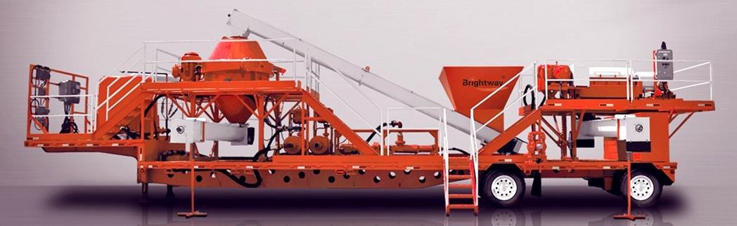 正道能源车载钻井泥浆干燥不落地系统
