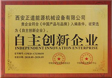 自主创新企业