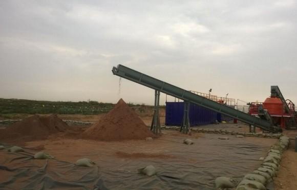 泥浆不落地系统-水基泥浆处理效果