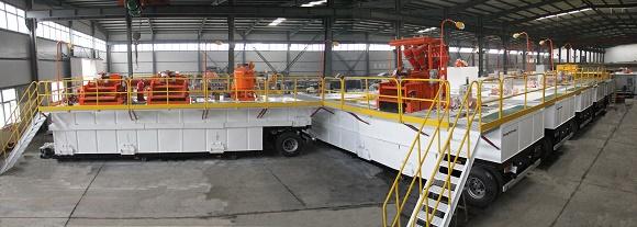 正道能源车载式泥浆固控系统