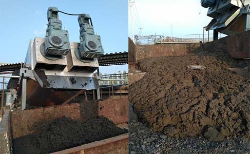 污泥脱水装置现场应用案例实物展示