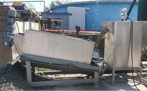 现场污泥脱水装置应用现场