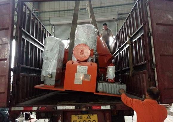 正道能源一台BWLS1600型钻屑甩干机