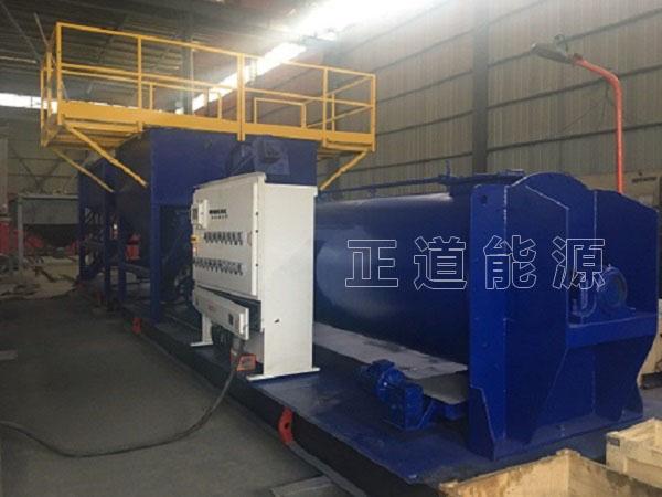 钻井泥浆固化系统