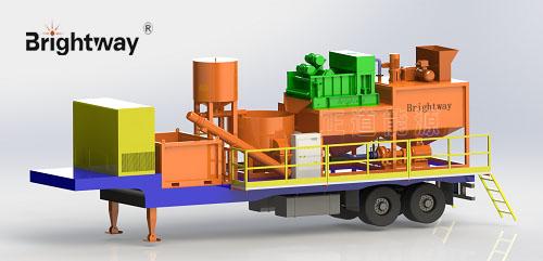 车载泥浆固化系统