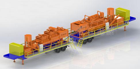 石油钻井泥浆固化处理设备